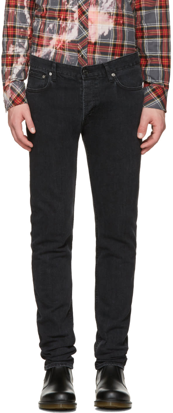 Herman Black Vintage Slim Rocker Jeans