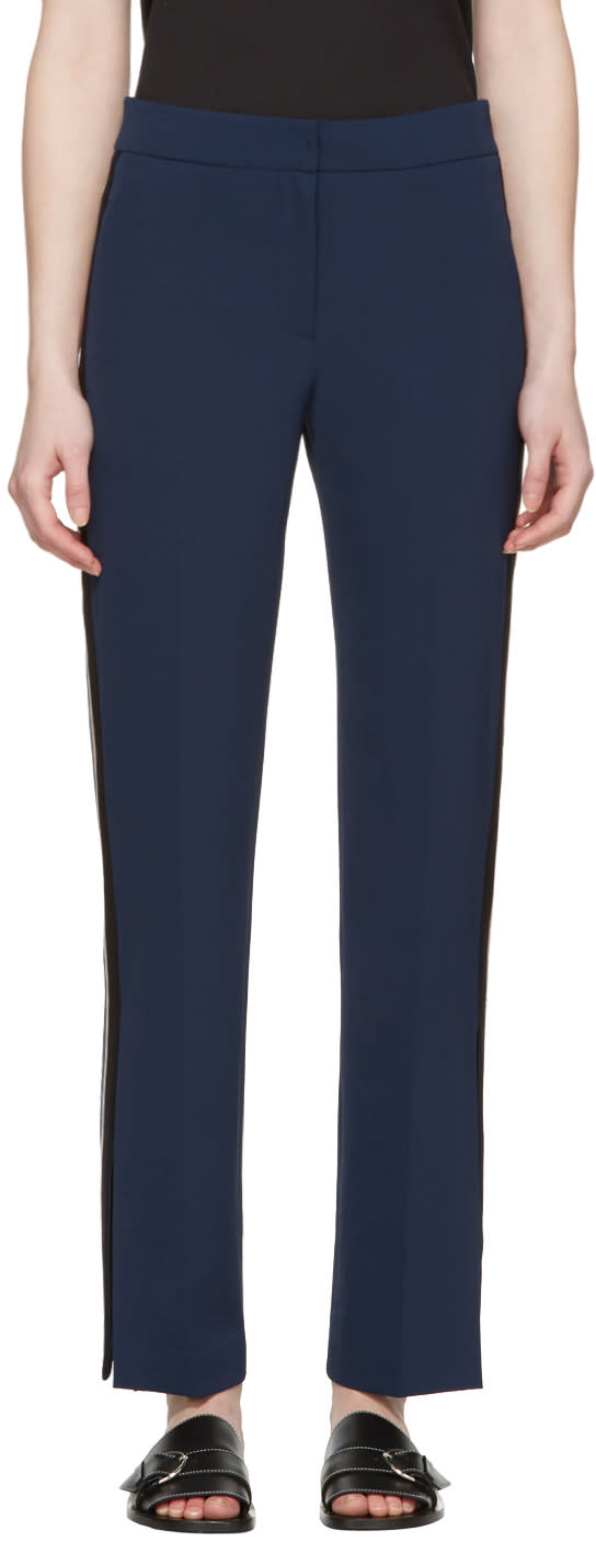Kuho Navy Chicory Trousers