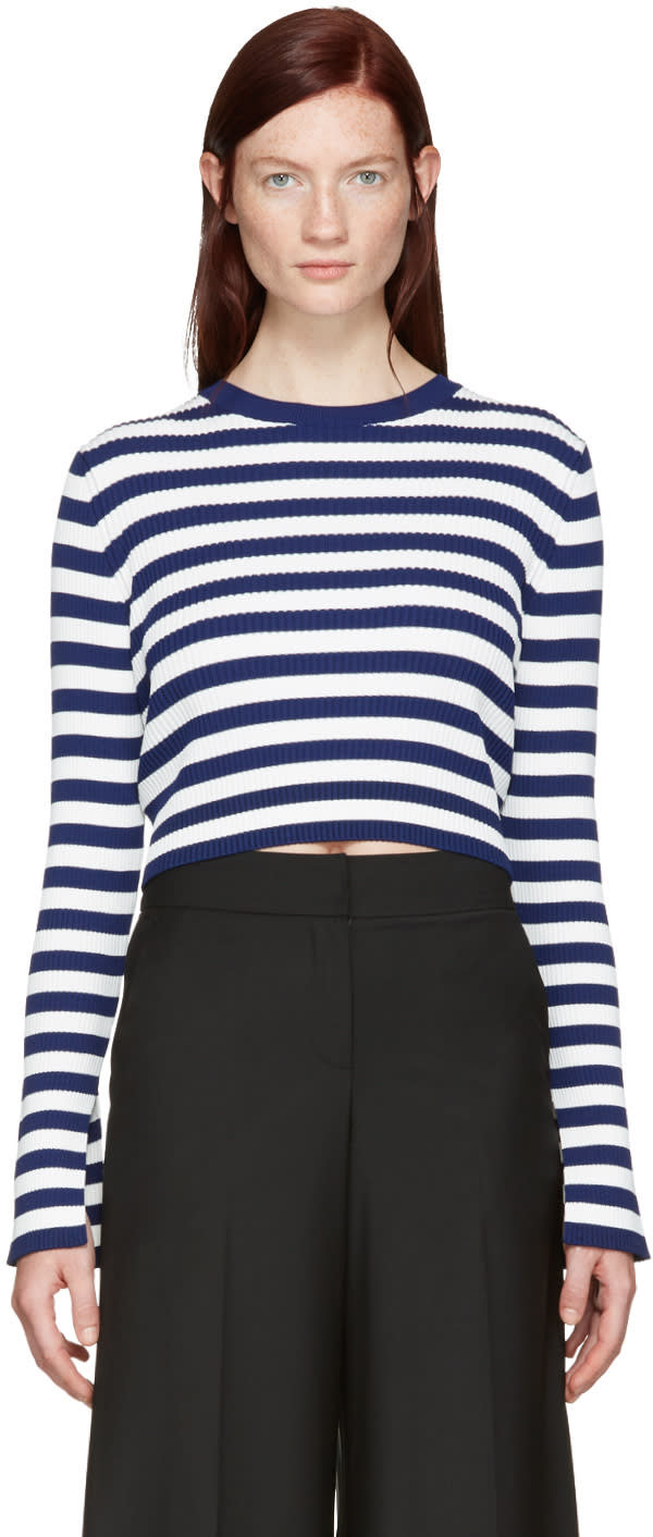 Kuho Blue Cropped Sydney Pullover