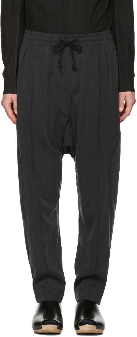 Abasi Rosborough Grey Arc Ankara Trousers