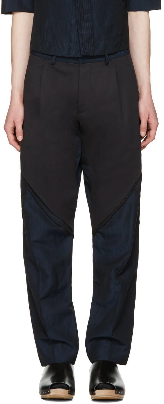 Abasi Rosborough Indigo Arc Trousers