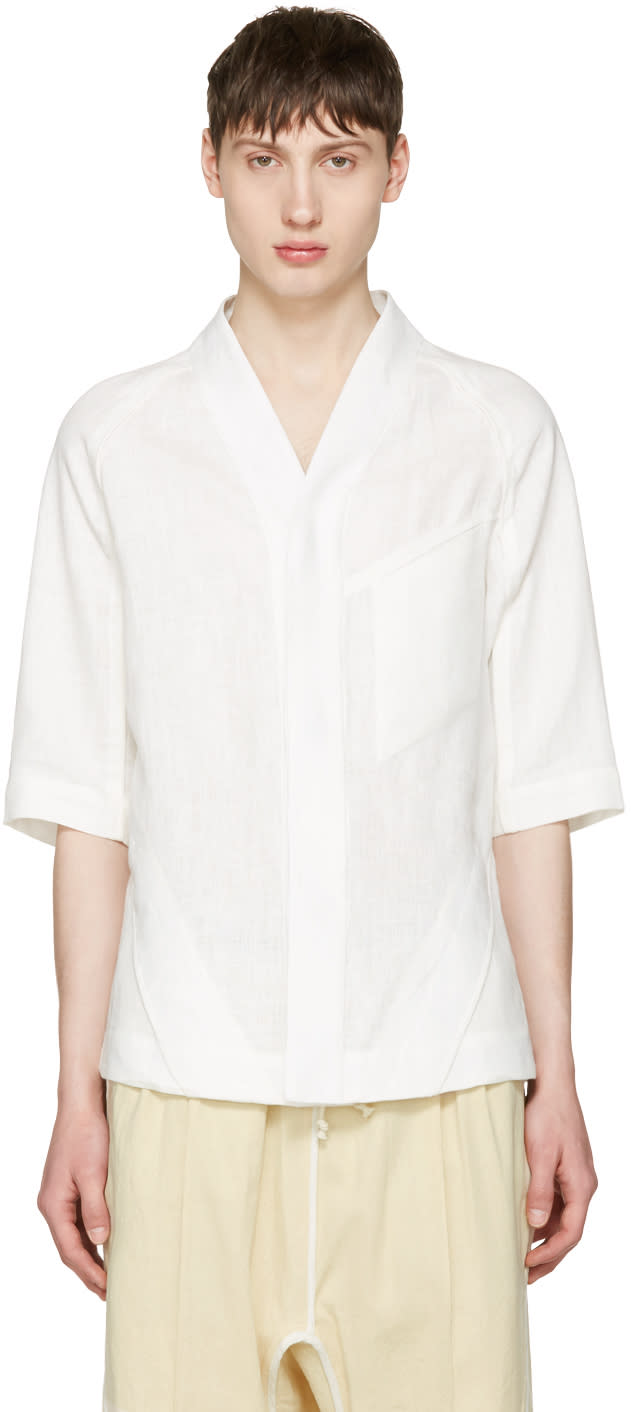 Abasi Rosborough White Arc Apres Desert Shirt