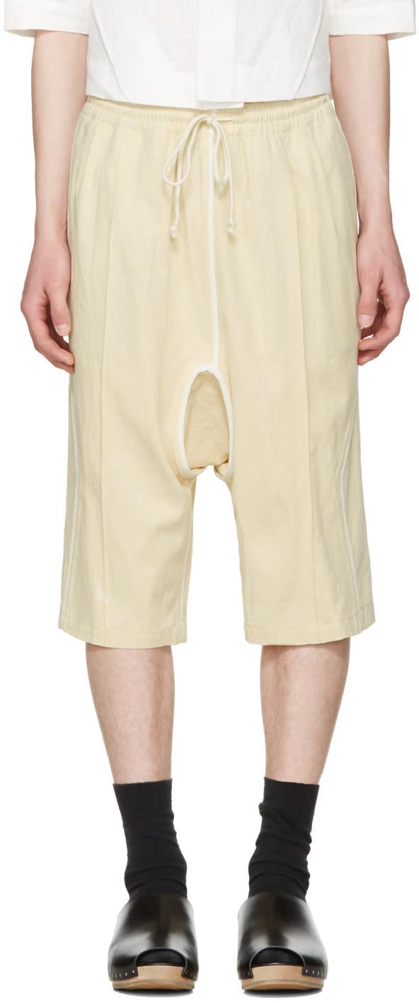Abasi Rosborough Beige Arc Kyoto Shorts