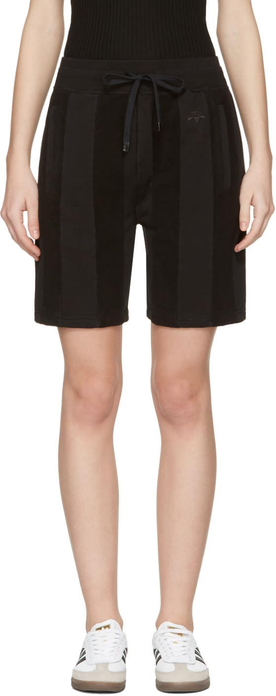 Image of Adidas Originals By Alexander Wang Black Inout Shorts