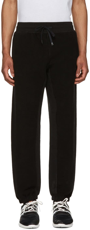 Adidas Originals By Alexander Wang Black Inout Jogger Lounge Pants