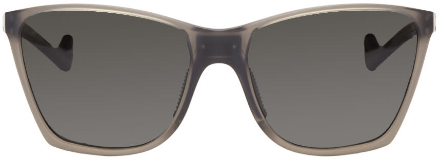 Image of District Vision Grey Keiichi Polarized Sunglasses