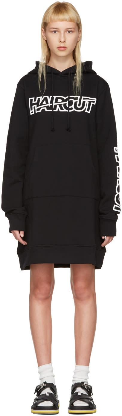 Ashley Williams Black haircut Hoodie Dress
