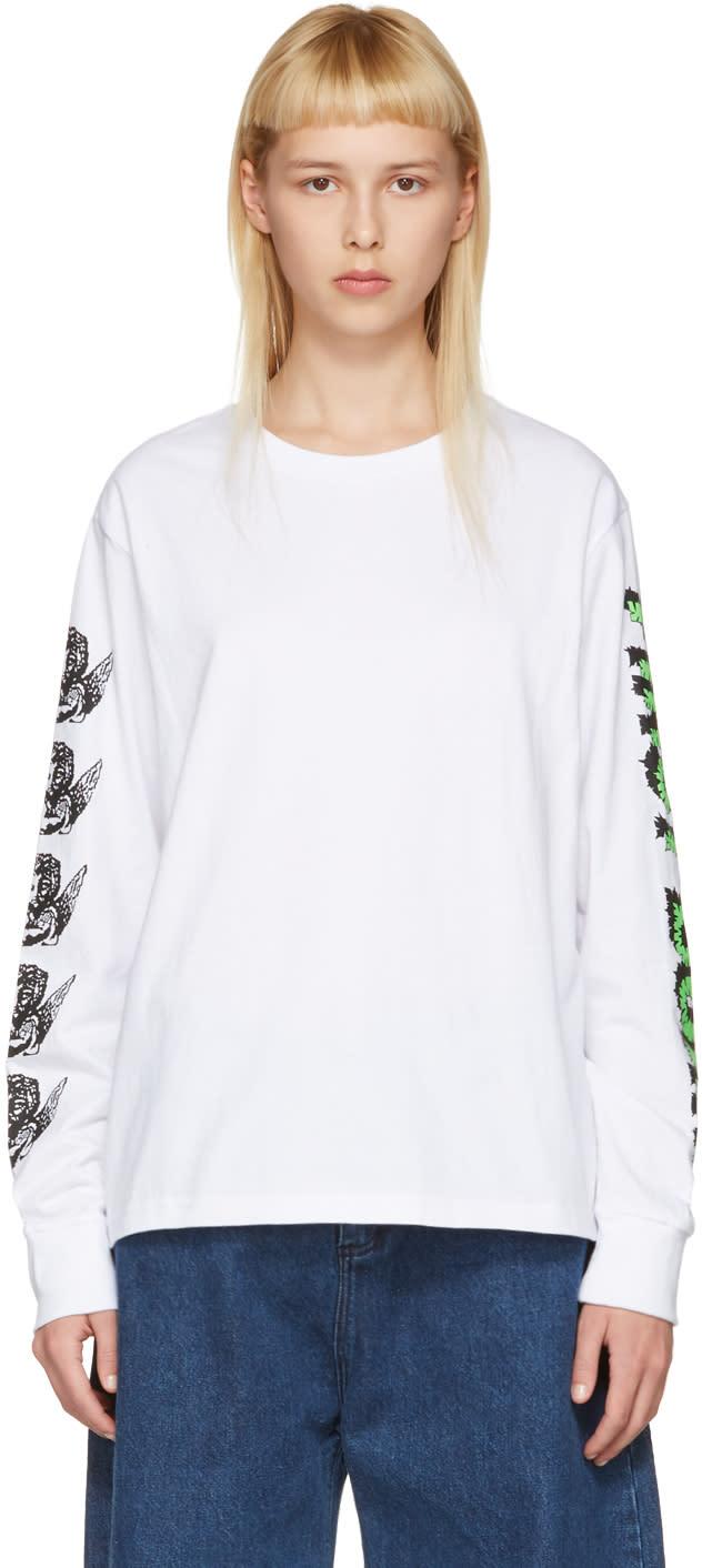 Ashley Williams White first Born Cherub T-shirt