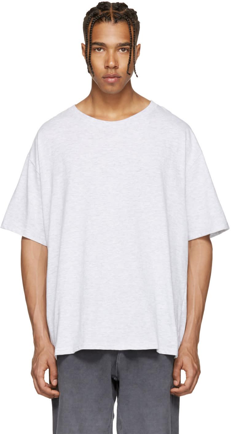 Yeezy Grey Regular T-shirt