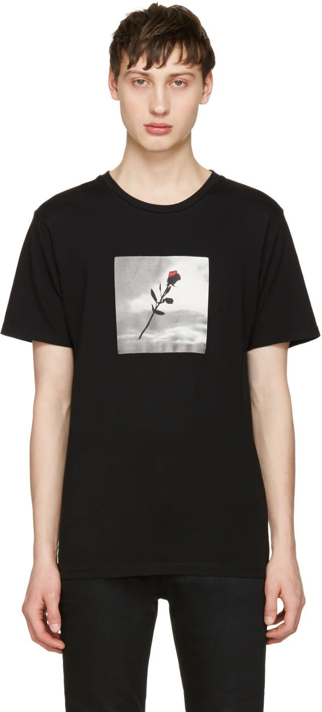 Resort Corps Black Vhs Rose T-shirt