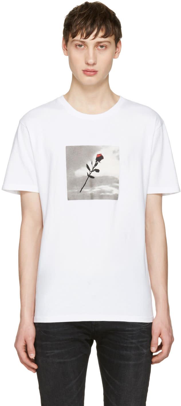 Resort Corps White Vhs Rose T-shirt