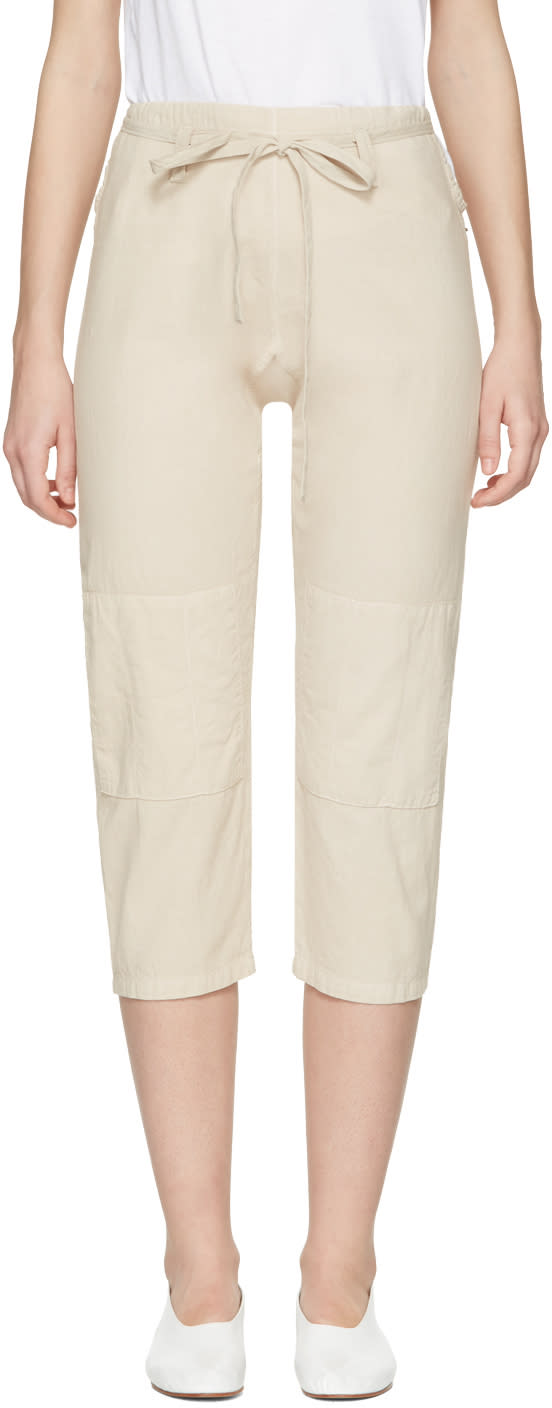 Image of 69 Beige Chambray Karate Jeans