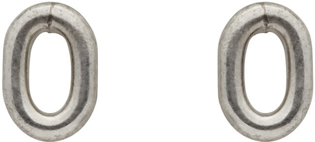 Sophie Buhai Silver Oval Stud Earrings