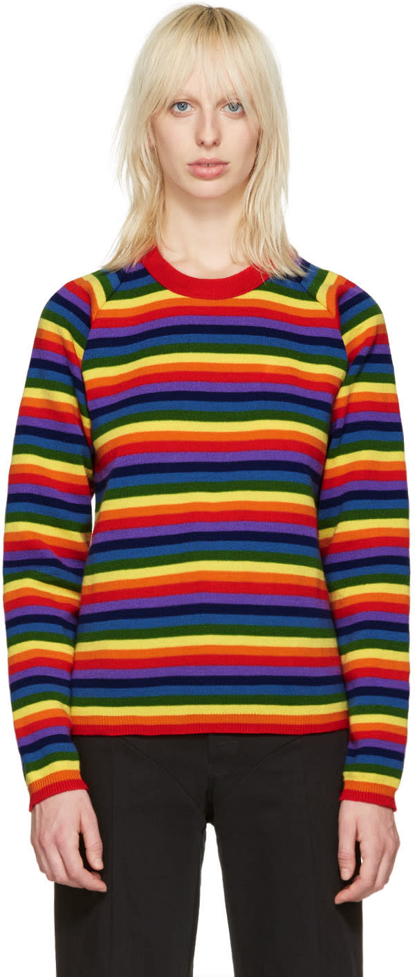 Molly Goddard Multicolor Rainbow Charlie Sweater