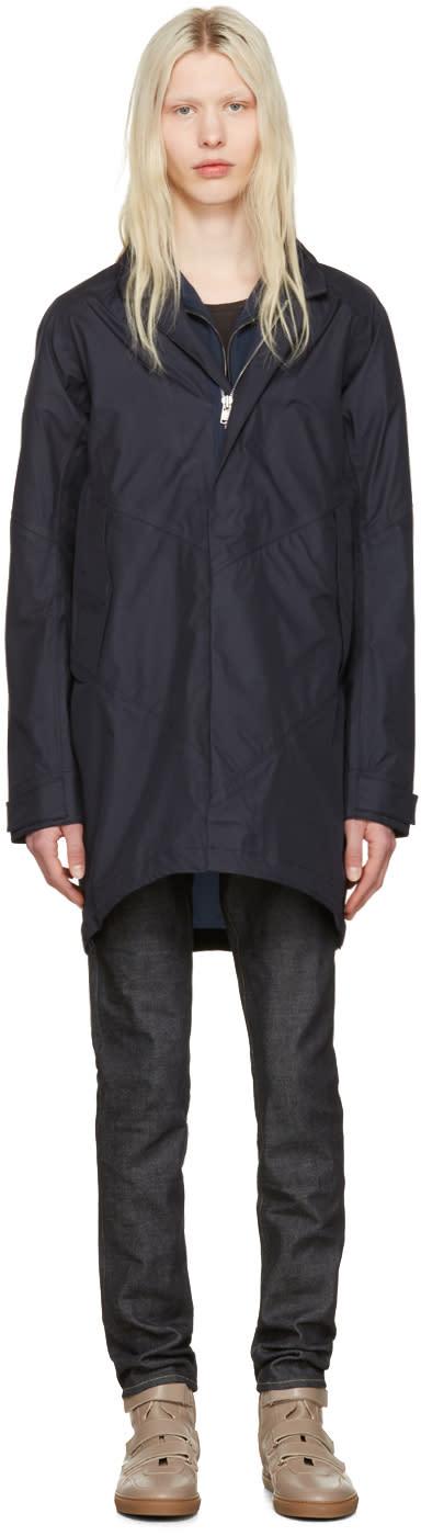 Nonnative Navy Nylon Roamer Coat