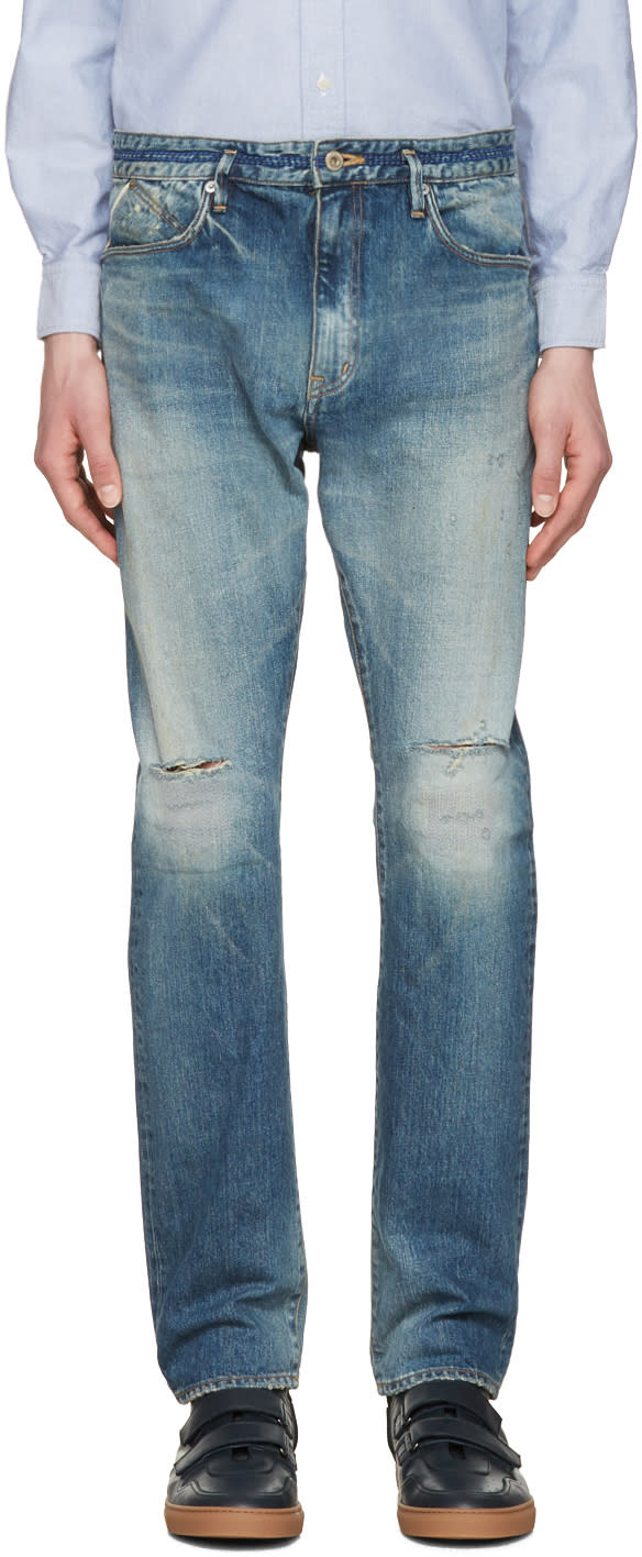 Image of Nonnative Indigo Dweller Usual Fit Jeans