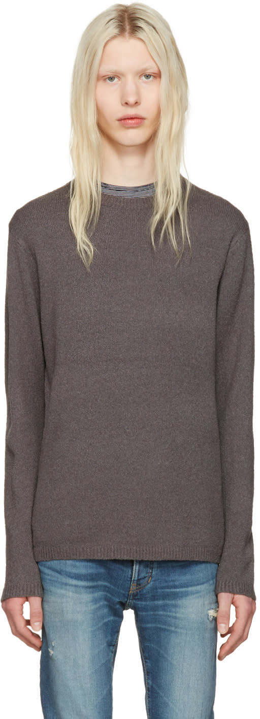 Image of Nonnative Grey Clerk Sweater