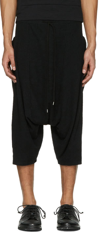 The Viridi-anne ブラック バギー ポケット ショーツ