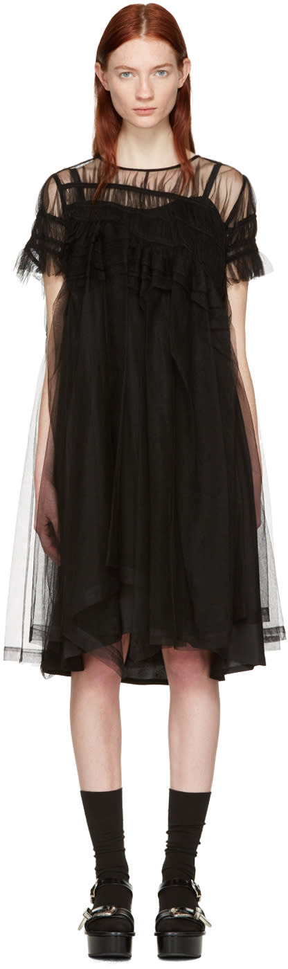 Chika Kisada Black Tulle Dress