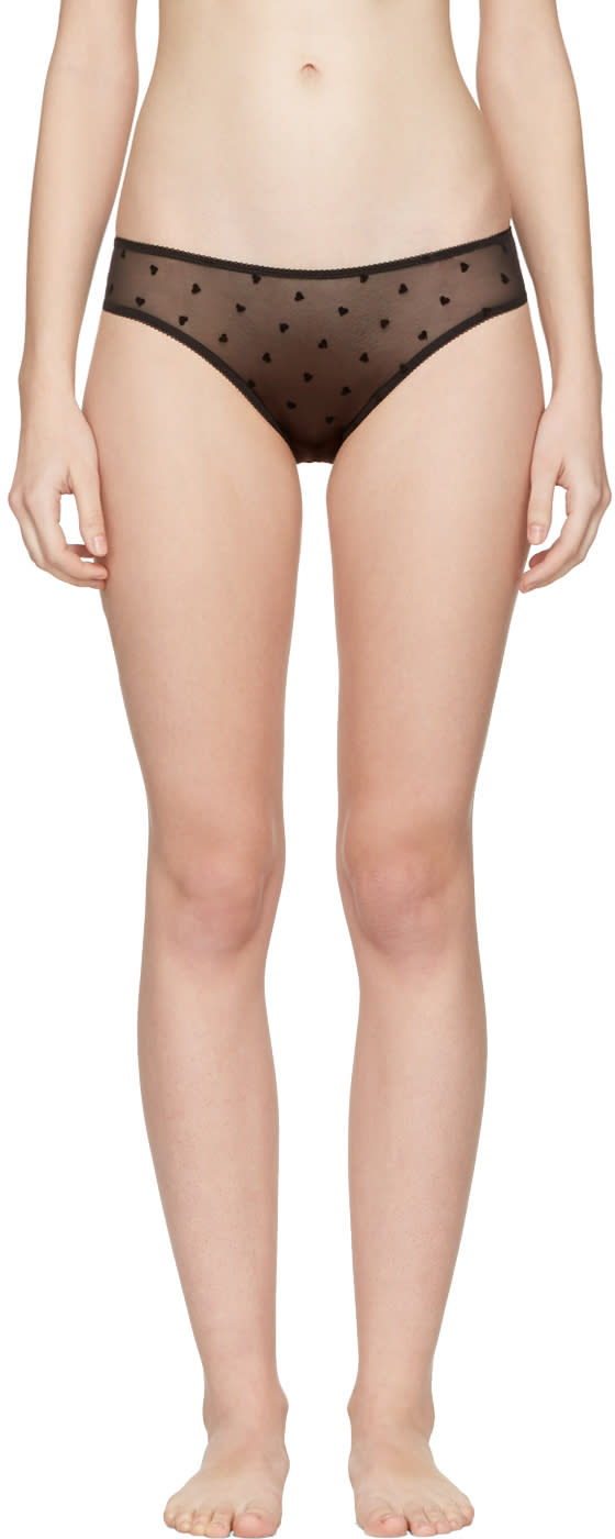 Le Petit Trou Black Sandrine Bikini Briefs