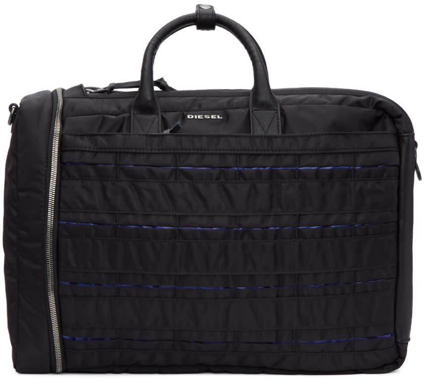 6905b166aa Diesel Black M-24-7 Briefcase