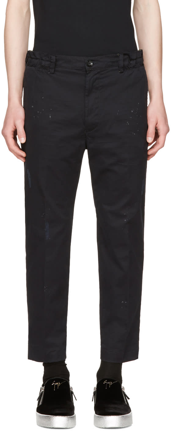 Diesel Black P-mad Trousers