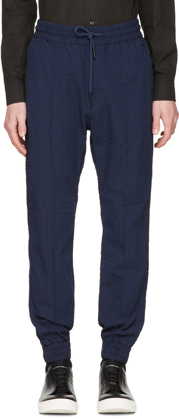 Diesel Navy Striped P-point Trousers