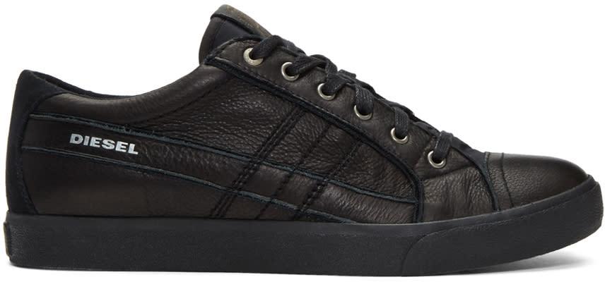 Diesel Black D-string Low Sneakers