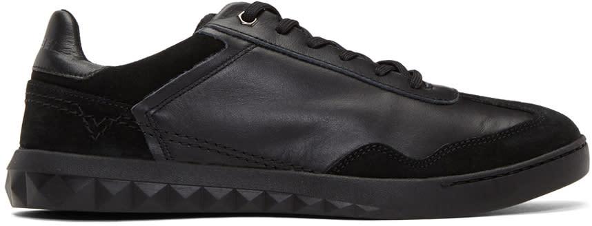 Diesel Black S-studshean Sneakers