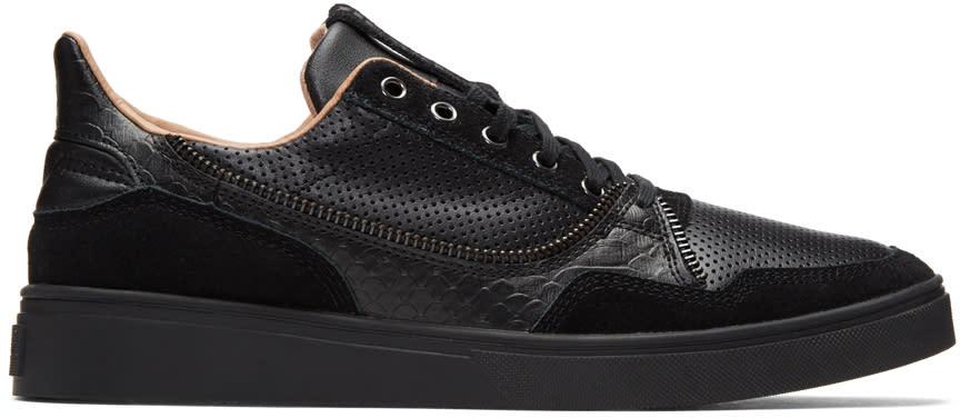 Diesel Black S-vip Sneakers