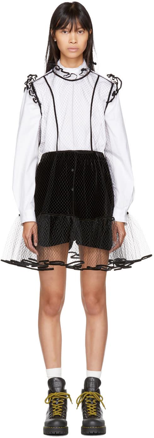 Image of Cecilie Bahnsen Black Eleanor Dress
