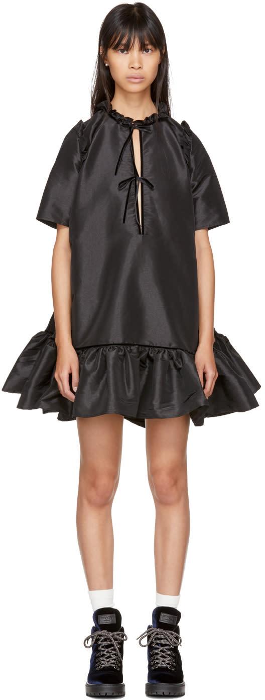 Image of Cecilie Bahnsen Black Natalia Dress