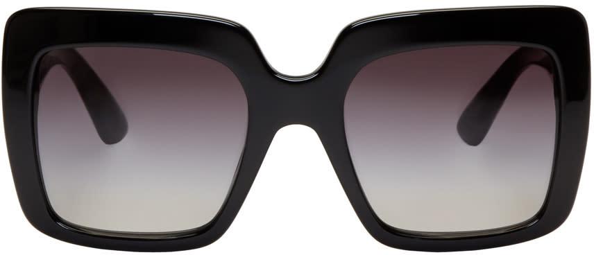 Dolce and Gabbana Black Square Sunglasses