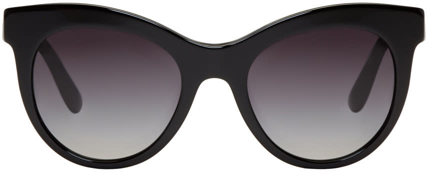 Dolce and Gabbana Black Cat-eye Sunglasses