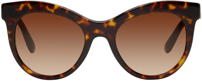 ba93b341096b6 Dolce and Gabbana Tortoiseshell Cat eye Sunglasses