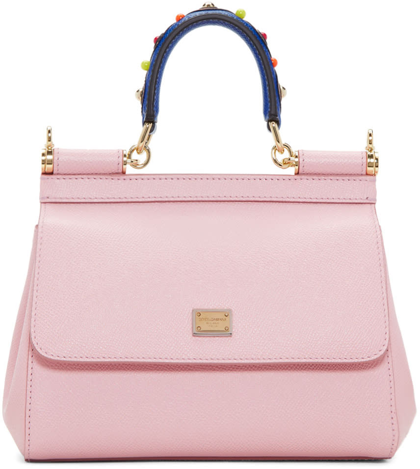 Dolce and Gabbana Pink Mini Miss Sicily Bag