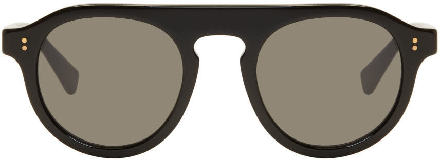 Dolce and Gabbana Black Round Sunglasses