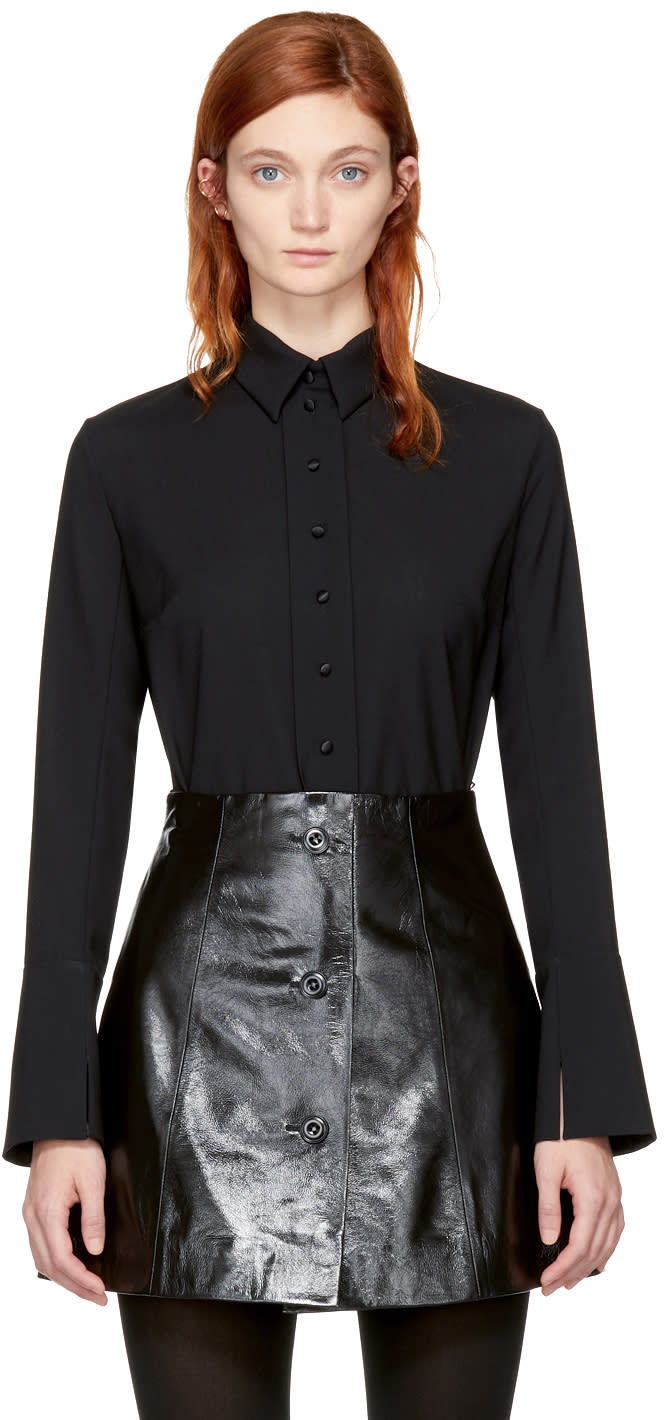 Olivier Theyskens Black Taylor Shirt