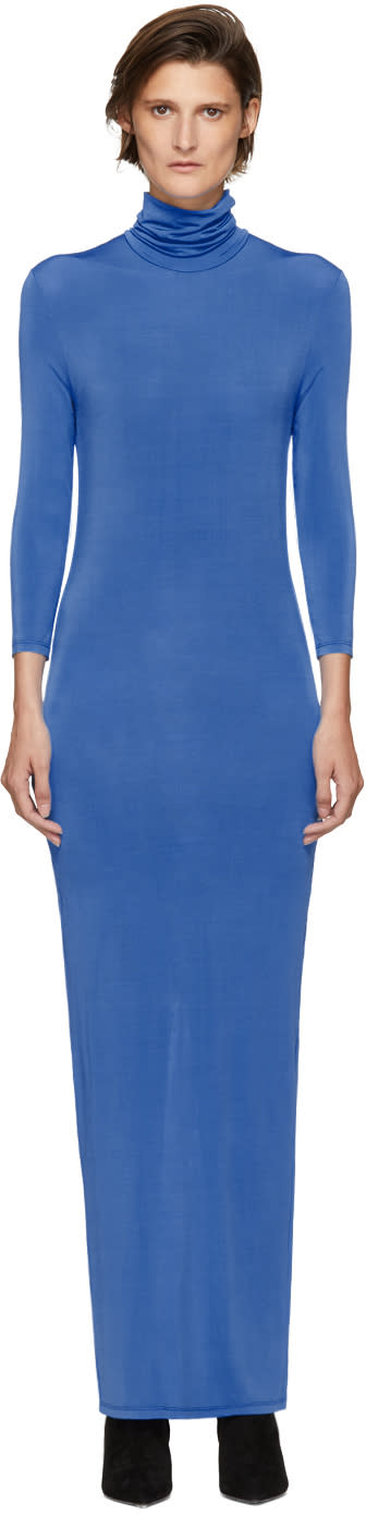 Image of Kwaidan Editions Blue Underpinnings Turtleneck Dress