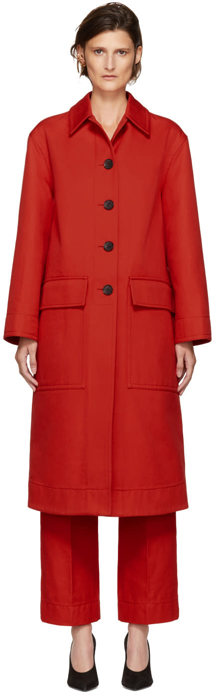 Image of Kwaidan Editions Red Lockwood Coat