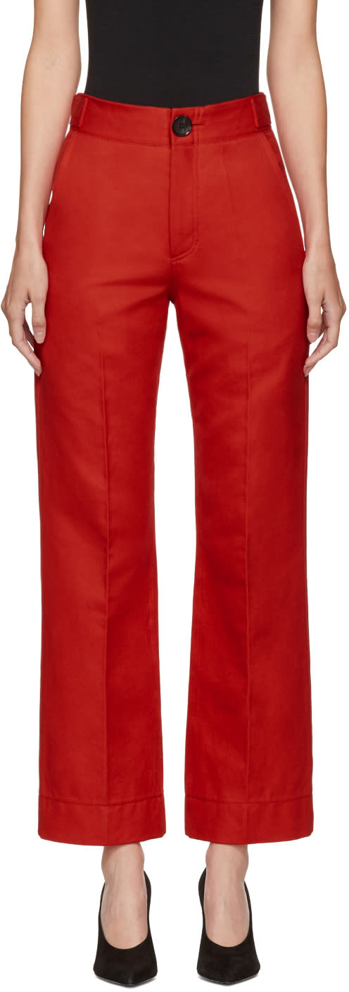 Image of Kwaidan Editions Red Lockwood Trousers