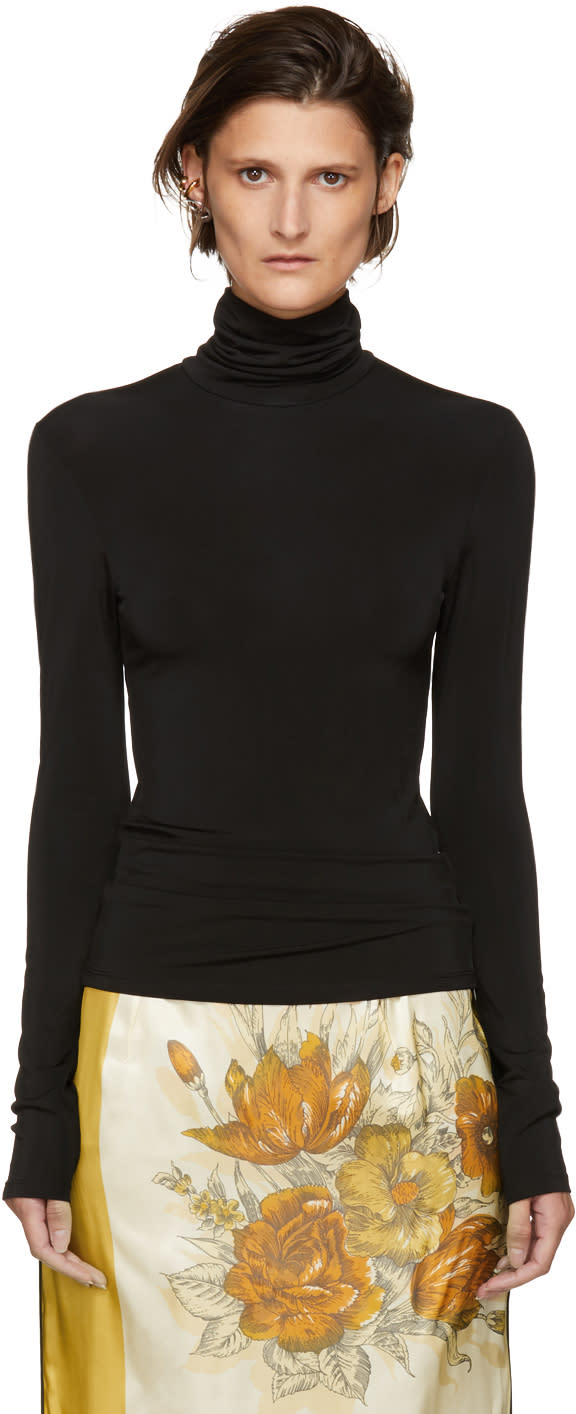 Image of Kwaidan Editions Black Underpinnings Turtleneck
