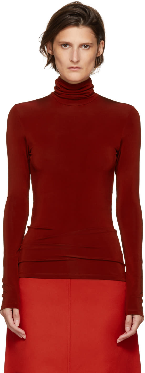 Image of Kwaidan Editions Red Underpinnings Turtleneck