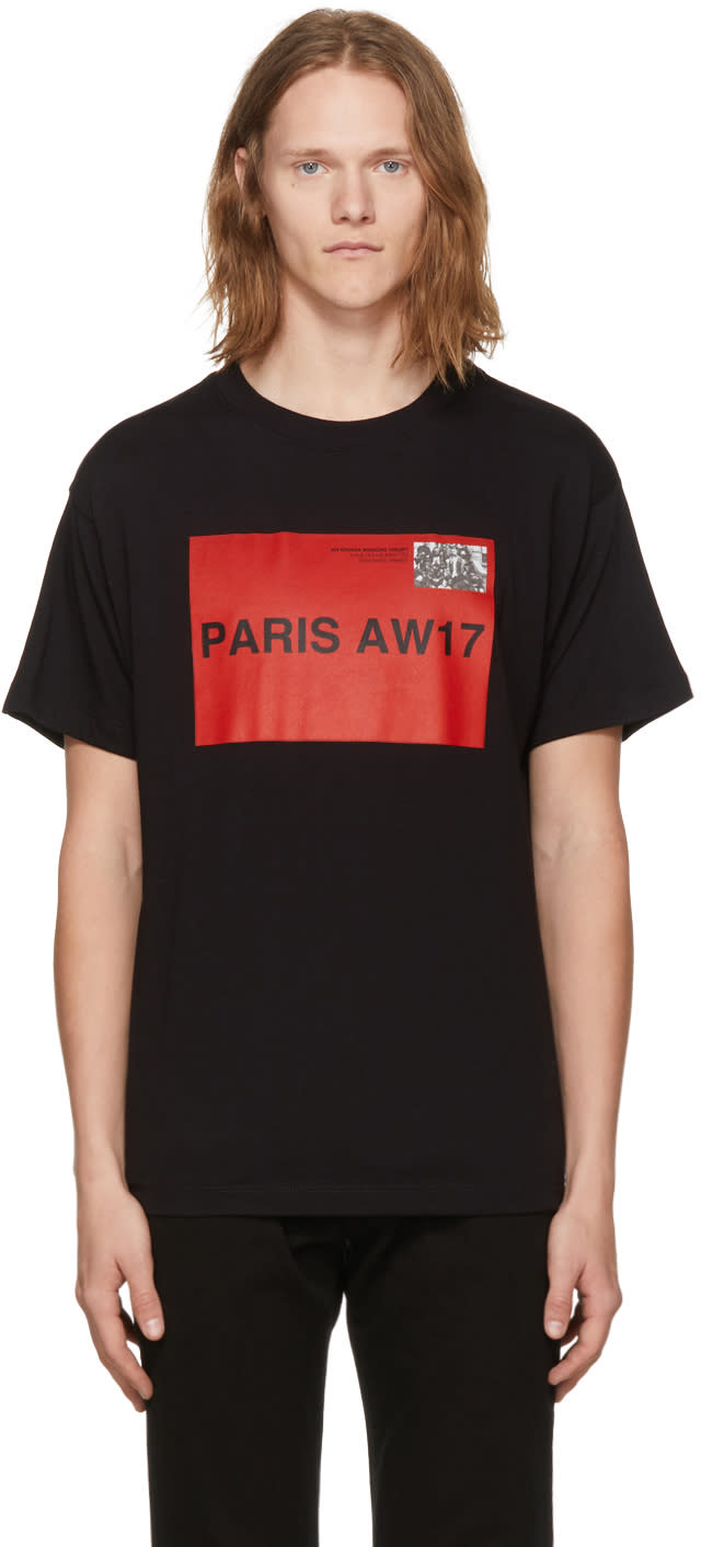 Image of 424 Black mvp Paris T-shirt