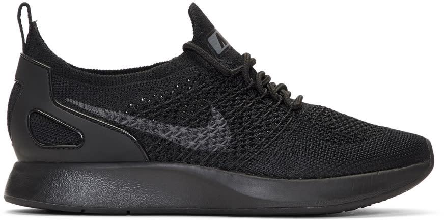 Image of Nike Black Air Zoom Mariah Racer Sneakers