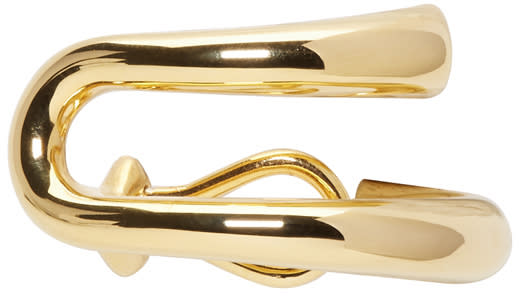 Image of Charlotte Chesnais Gold Dali Clip-on Earring