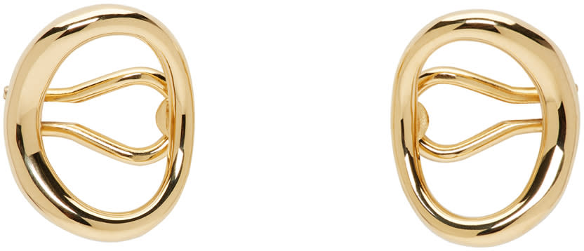Image of Charlotte Chesnais Gold Naho Ear Cuffs