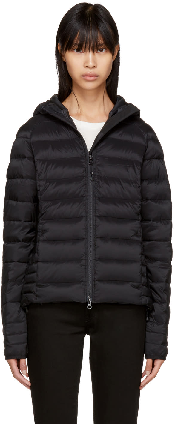 Image of Canada Goose Black Down black Label Brookvale Jacket