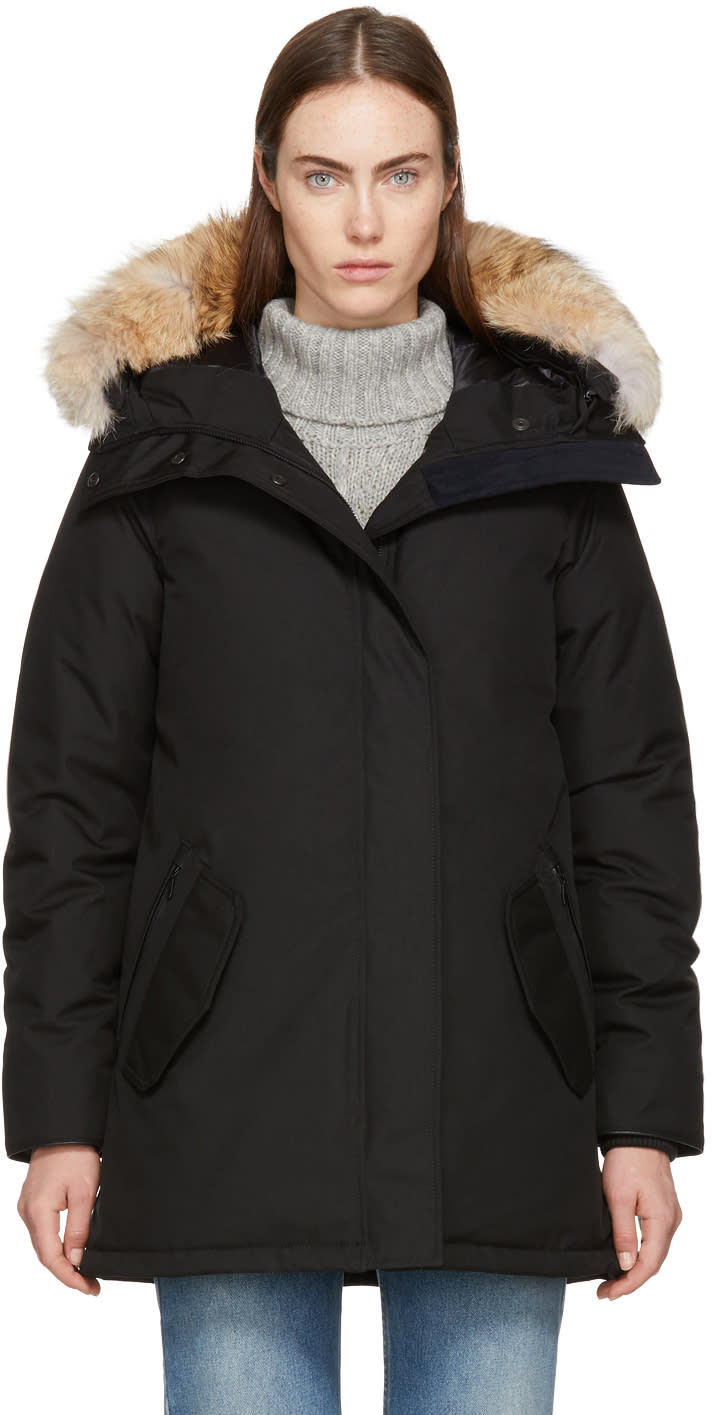 Canada Goose Black Down black Label Cannington Parka