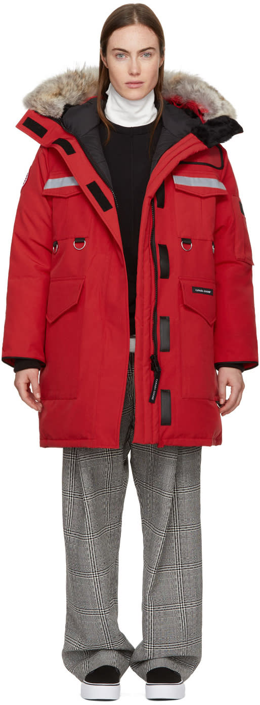 Canada Goose Red Down Resolute Parka